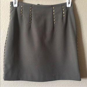 EUC H&M olive green skirt size 2